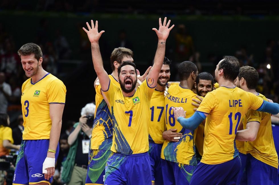 Seleção masculina de vôlei (Foto: Divulgação)