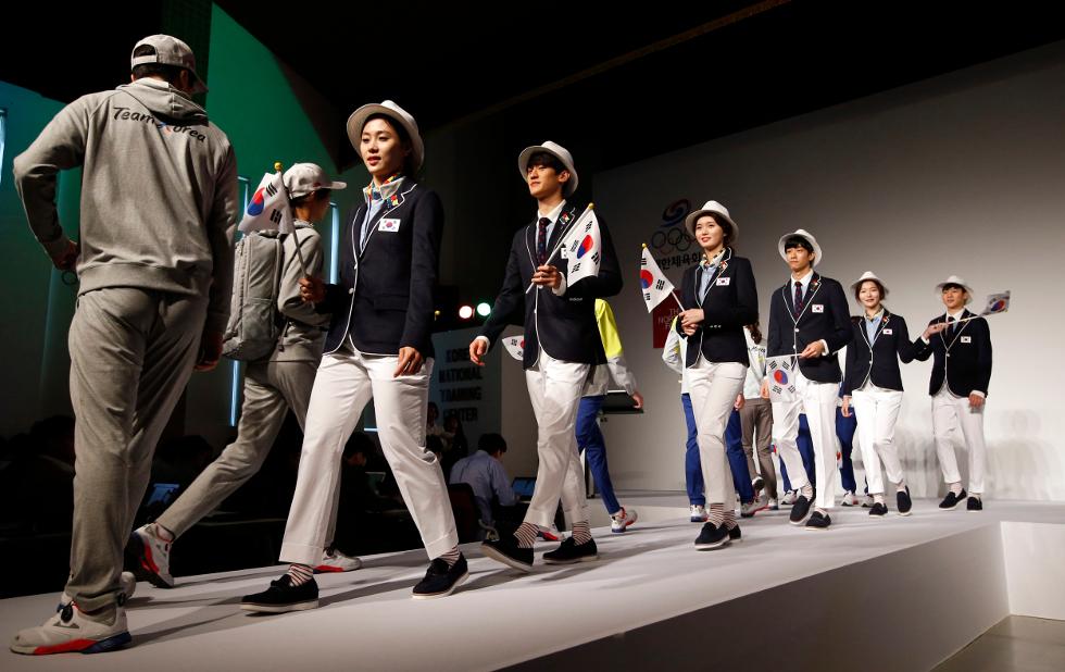 Uniforme Coreia do Sul (Foto: Divulgação)
