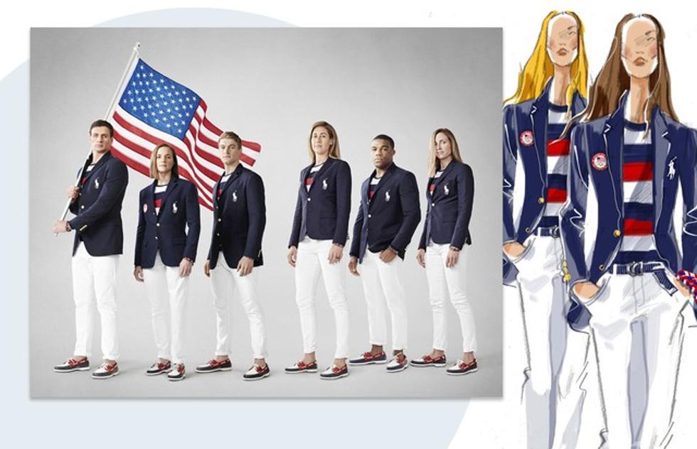 Uniforme Estados Unidos, pela Polo Ralph Lauren (Foto: Divulgação)
