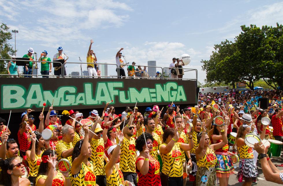 Desfile do bloco Bangalafumenga (Foto: Divulgação)