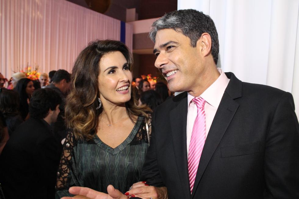 Fátima Bernardes e William Bonner (Foto: Divulgação)