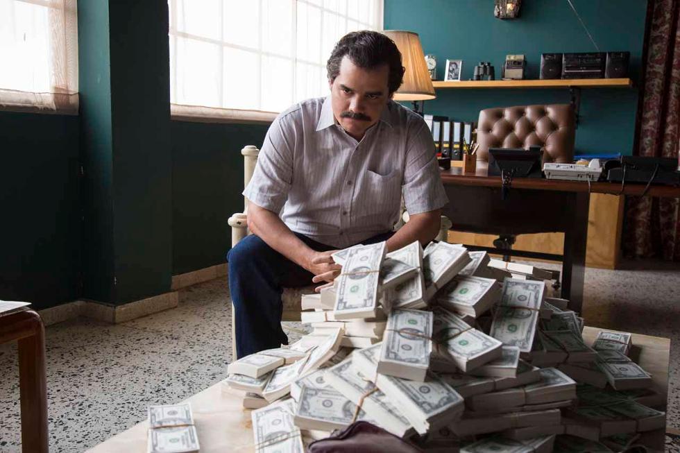 Wagner Mouro como Pablo Escobar (Foto: Divulgação)
