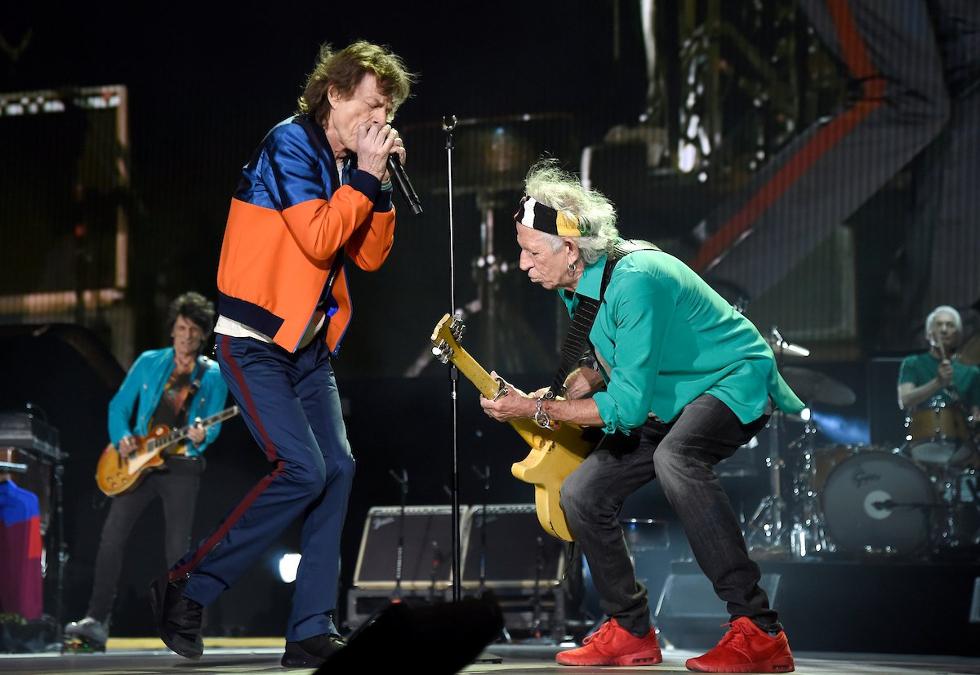 Mick Jagger e Bob Dylan (Foto: Divulgação)