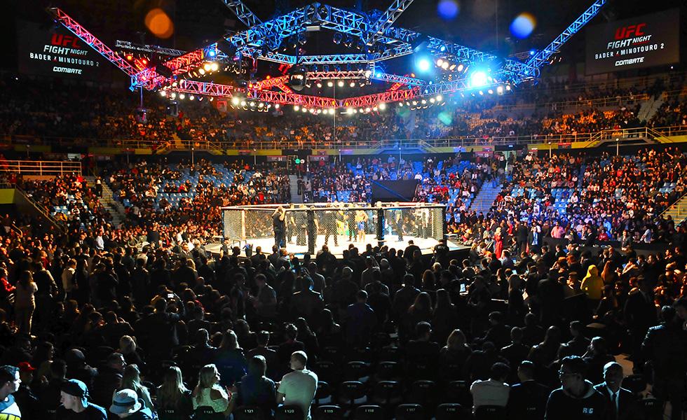 Geral do UFC Fight Night (Foto: Bruna Guerra/ Divulgação)