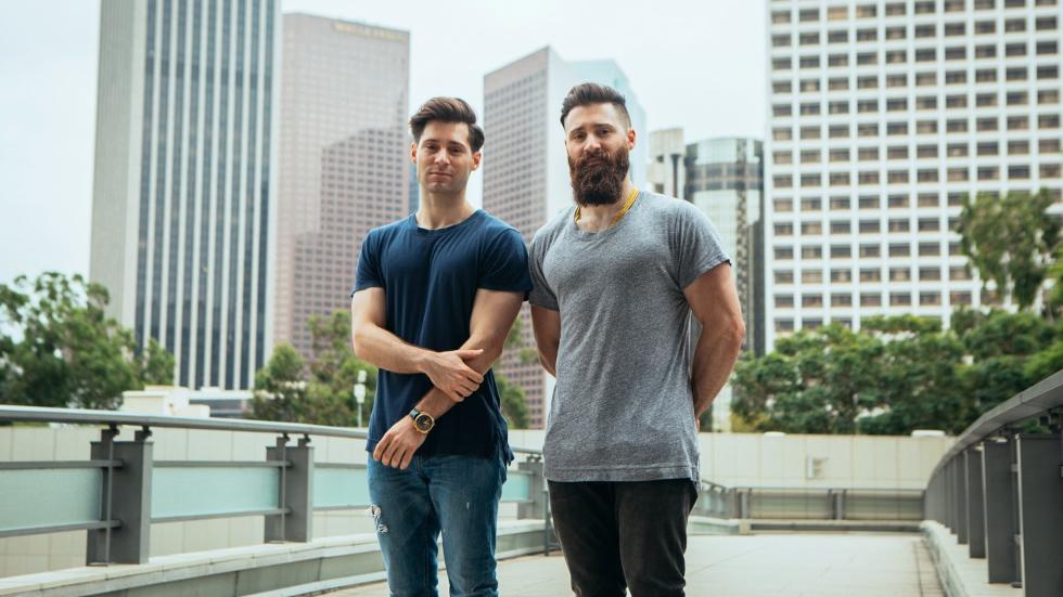 Adam e Ryan Goldston (Foto: Divulgação)