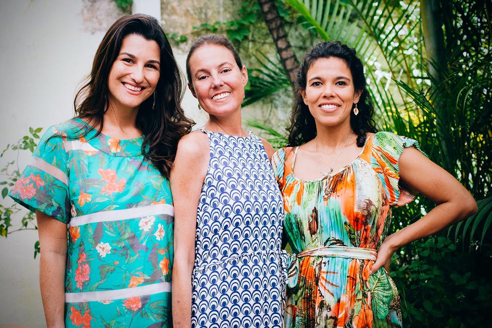 Sócias Fernanda Nogueira, Tatiana Grinfeld e Carol Toledo (Foto: Divulgação)