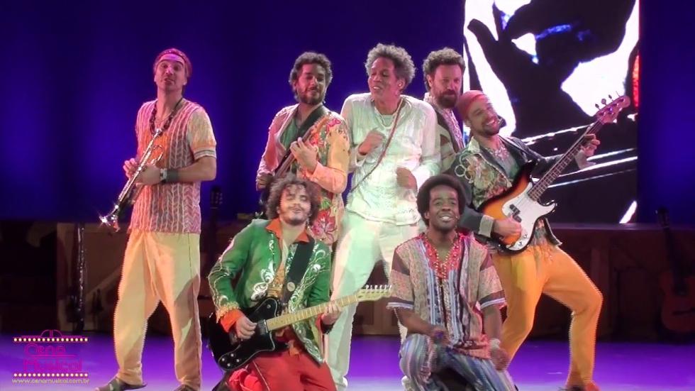 """""""Gilberto Gil, Aquele Abraço – O Musical"""" (Foto: Divulgação)"""