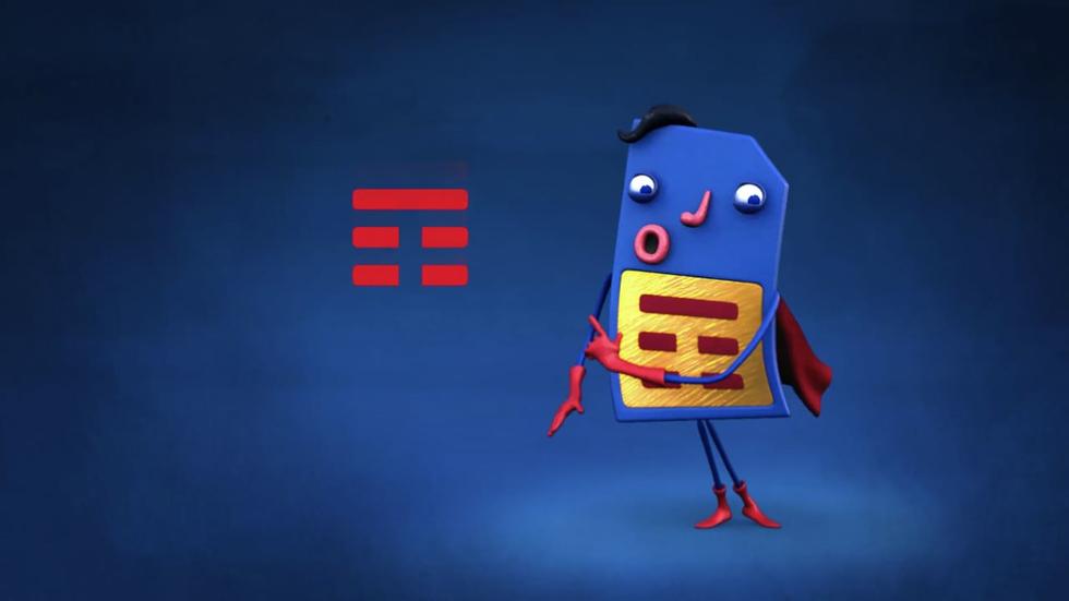 """""""Tim Super Chip"""" (Foto: Divulgação)"""