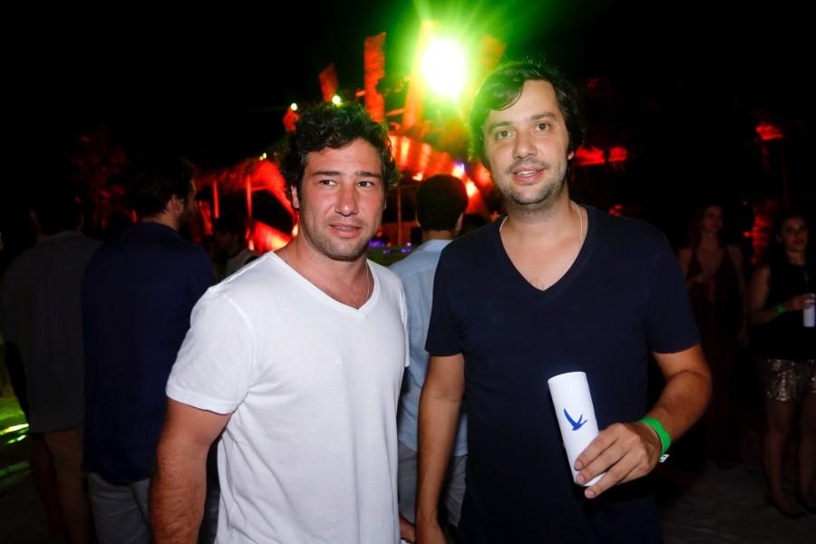 Iquinho Facchini e Ricardo Fleury (Foto: Reprodução)