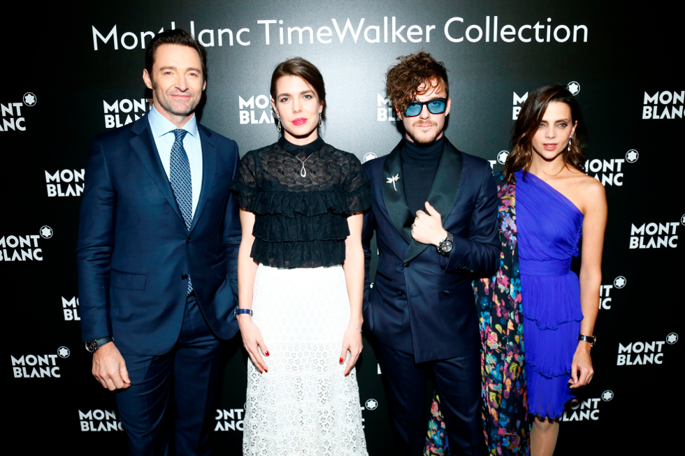 Jackman, Casiraghi, Comas e Gomez (Foto: Julien Hékimian)