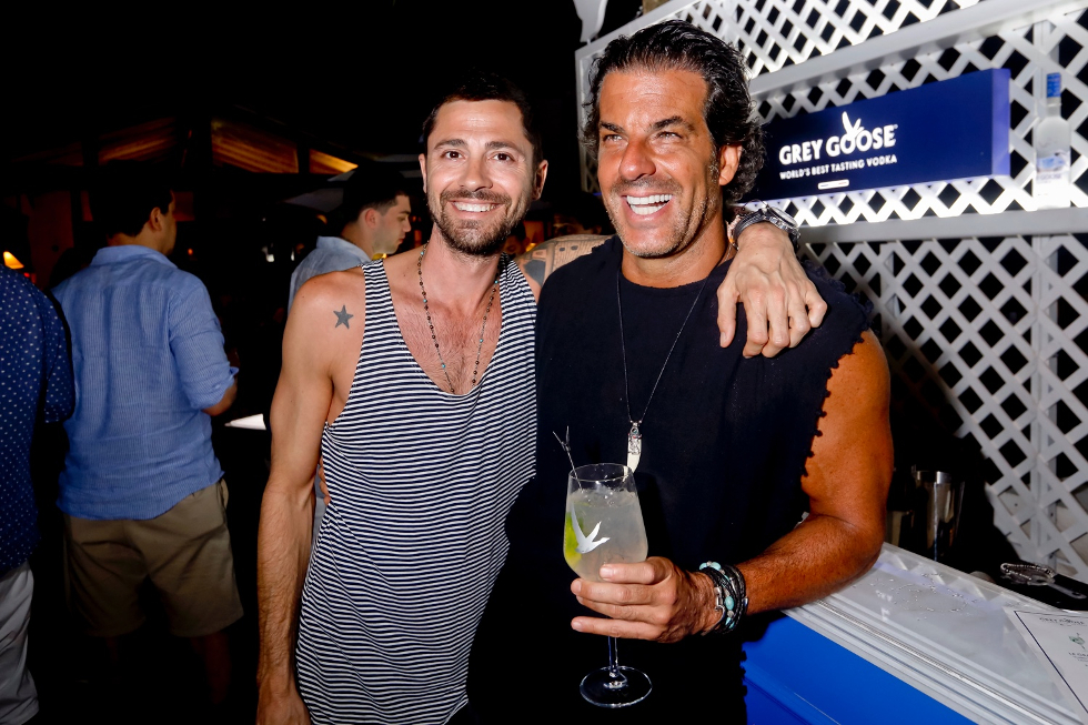 Josh Klein e Alvaro Garnero (Foto: Fabio Zanzeri/Divulgação)