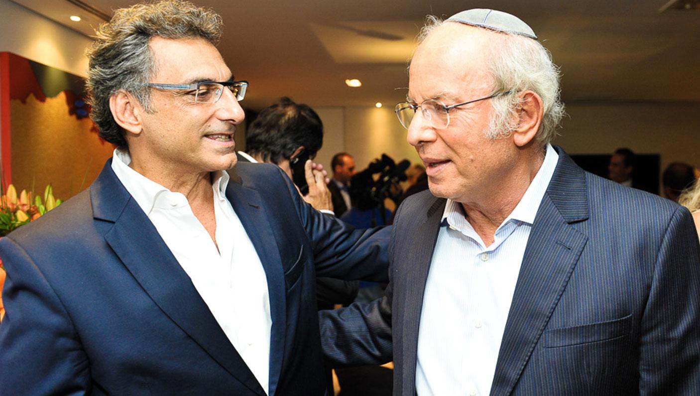 Meyer Nigri e Elie Horn (Foto: Paulo Freitas/Reprodução)