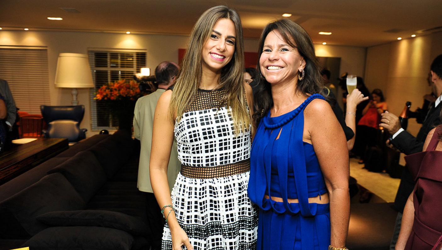 Andrea Horovitz e Lilian Nigri (Foto: Paulo Freitas/Reprodução)