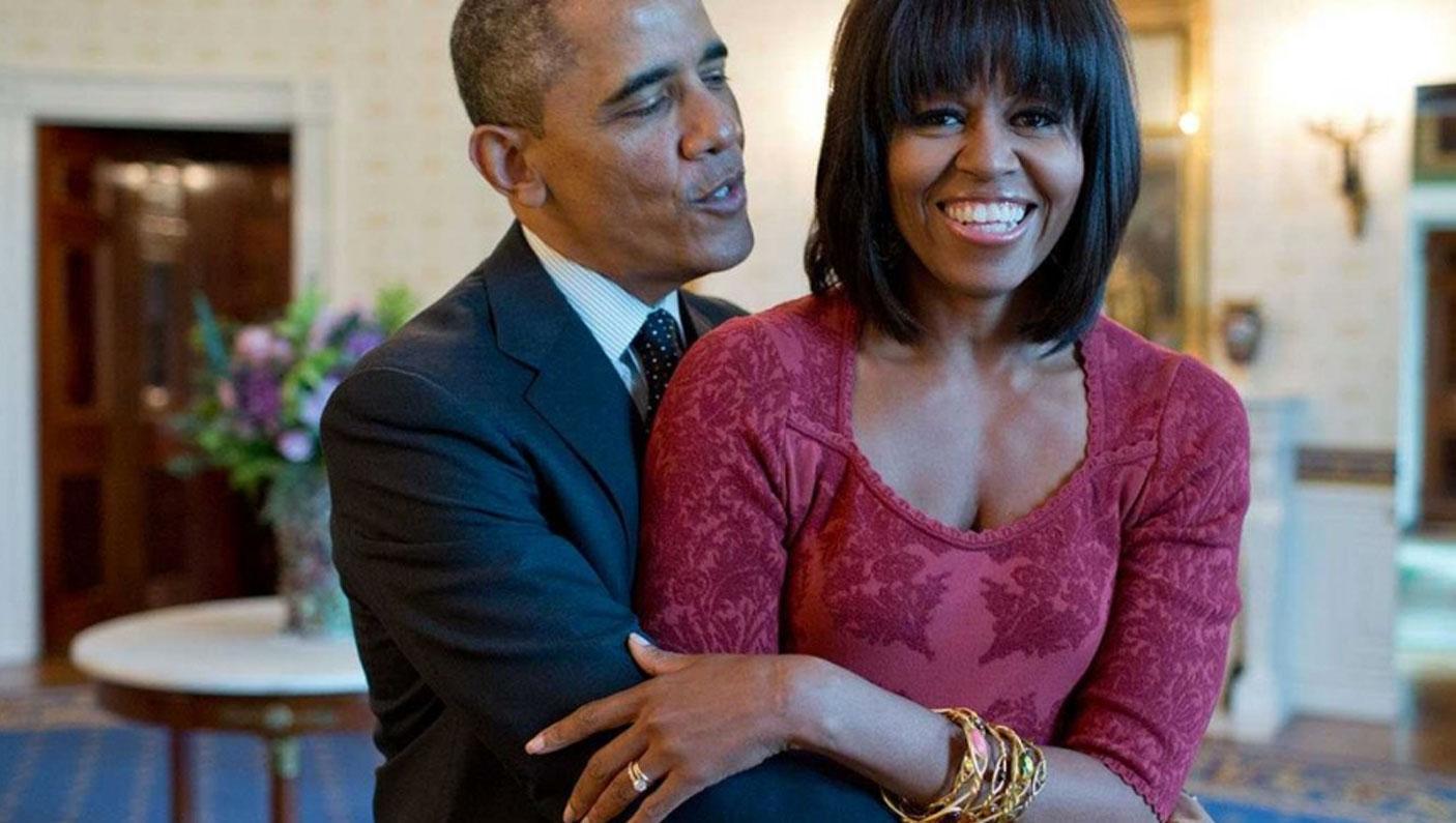 Barack and Michelle Obama (Foto: Divulgação)