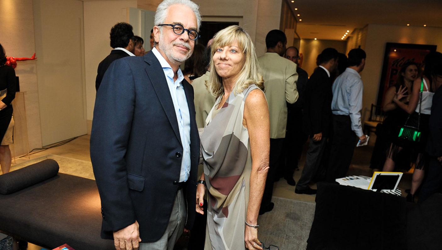 Claudia e Sidnei Epelman (Foto: Paulo Freitas/Reprodução)