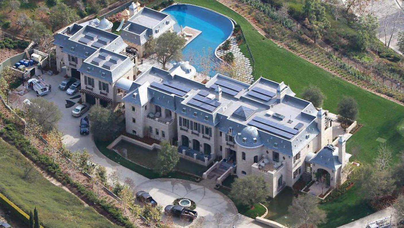 Mansão de 1.700 metros quadrados em Los Angeles foi vendida para o Dr. Dre em 2014 por US$ 40 milhões (Foto: Divulgação)