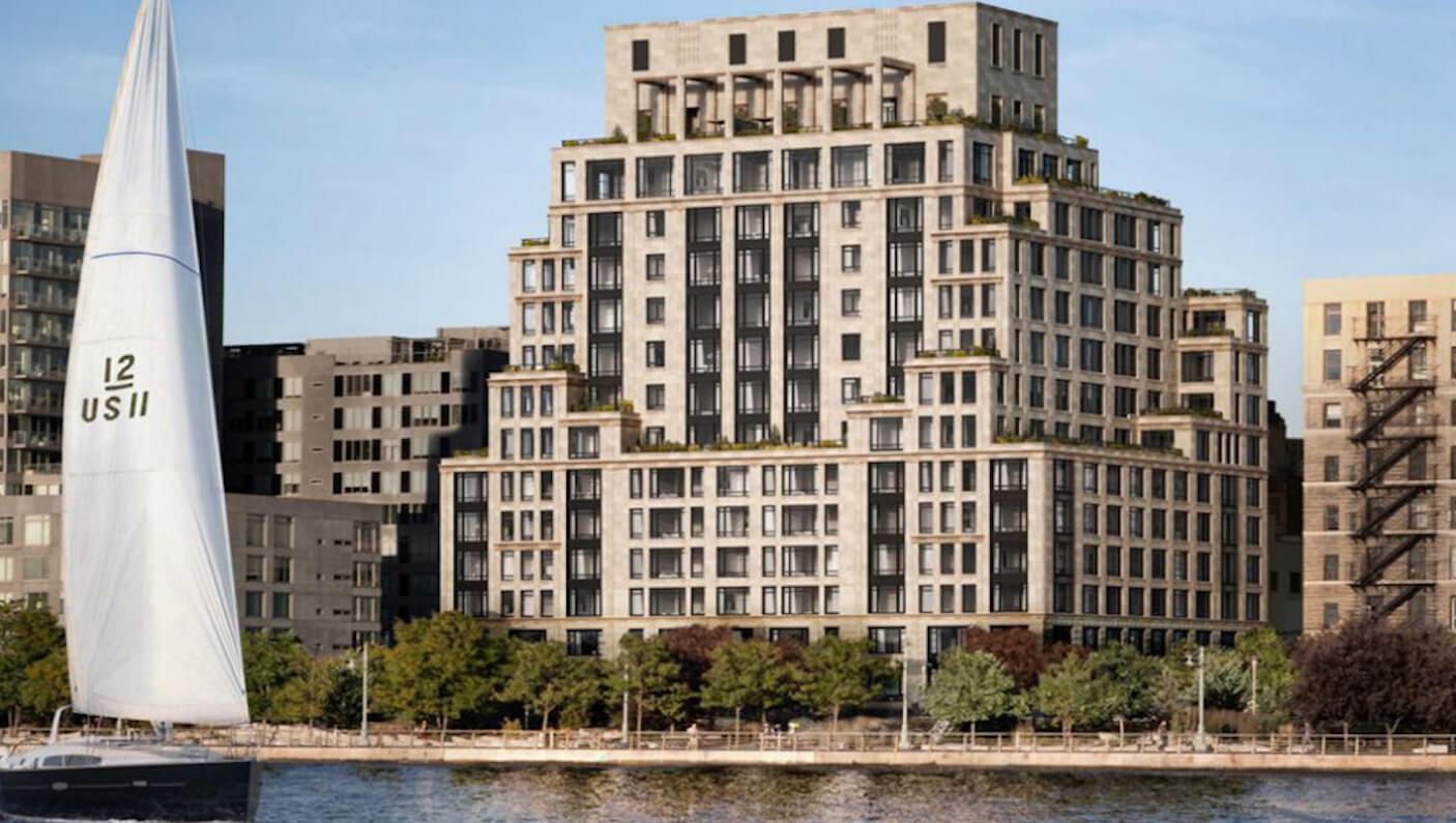 Brady e Gisele compraram em agosto de 2016 o 70 Vestry, condomínio de luxo no bairro Tribeca, Nova Iorque (Foto: Divulgação)