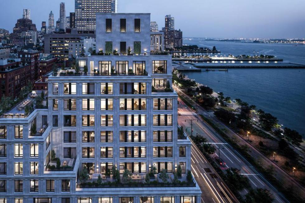 Apartamento no 70 Vestry terá 465 metros quadrados e cinco quartos (Foto: Divulgação)