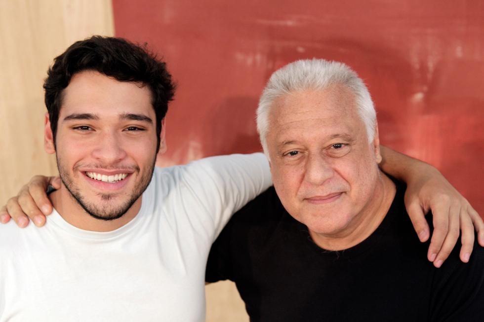 Bruno e Antonio Fagundes (Foto: Divulgação)