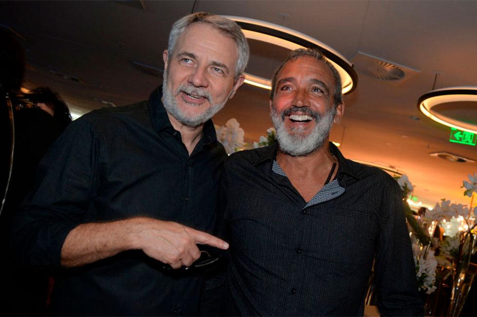 Carlos Henrique Schroder e Rogerio Gomes (Foto: Divulgação)