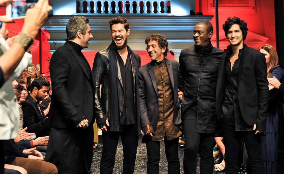Alexandre Nero, José Loreto, Ricardo Almeida, Seu Jorge e Gabriel Leone (Foto:Divulgação)