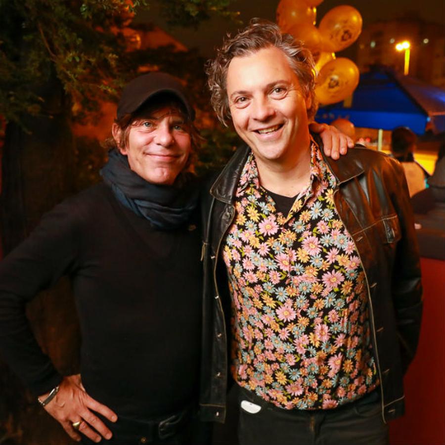 Fernando Sommer e Fernando Autran (Foto: Ali Karakas)