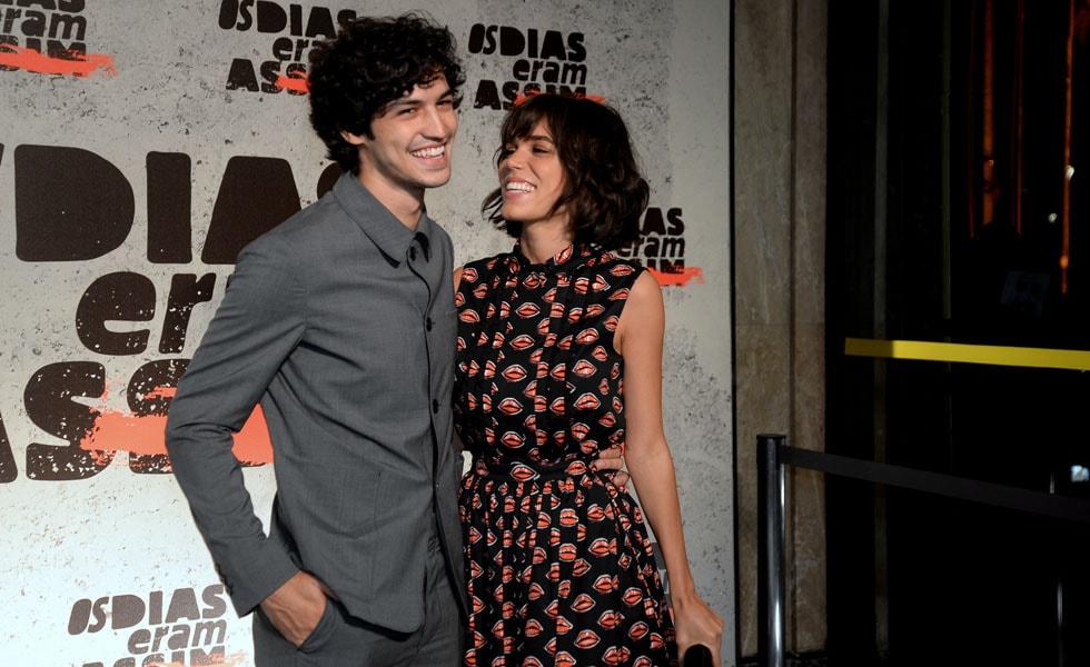 Gabriel Leone e Carla Salle (Foto: Reprodução)
