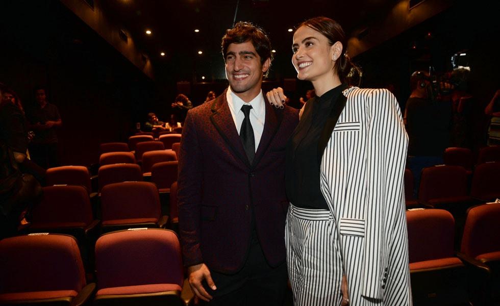 Maria Casadevall e Renato Goes (Foto: Reprodução)