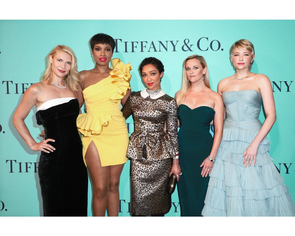 Claire Danes, Jennifer Hudson, Ruth Negga, Reese Witherspoon e Haley Bennett (Foto: Divulgação)