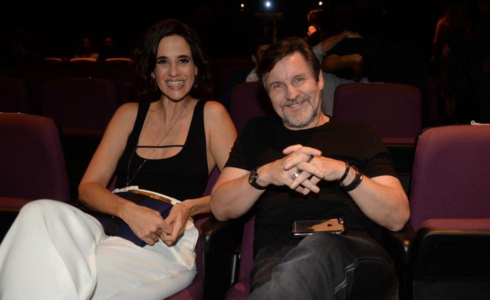 Mariana Lima e Antonio Calloni (Foto: Reprodução)