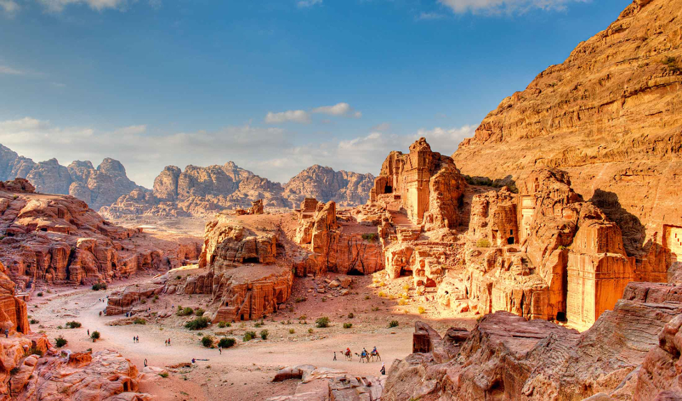 Jordânia: Um dos destinos mais interessantes do Oriente médio, combinando o dinamismo de sua capital, Amã, com riquezas de vestígios arqueológicos e muitas belezas naturais (Foto: Divulgação)