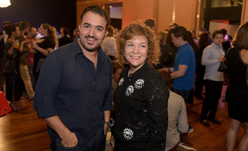 Victor Vasconcellos e Adriana Cymes (Foto: Alexandre Virgilio/Divulgação)
