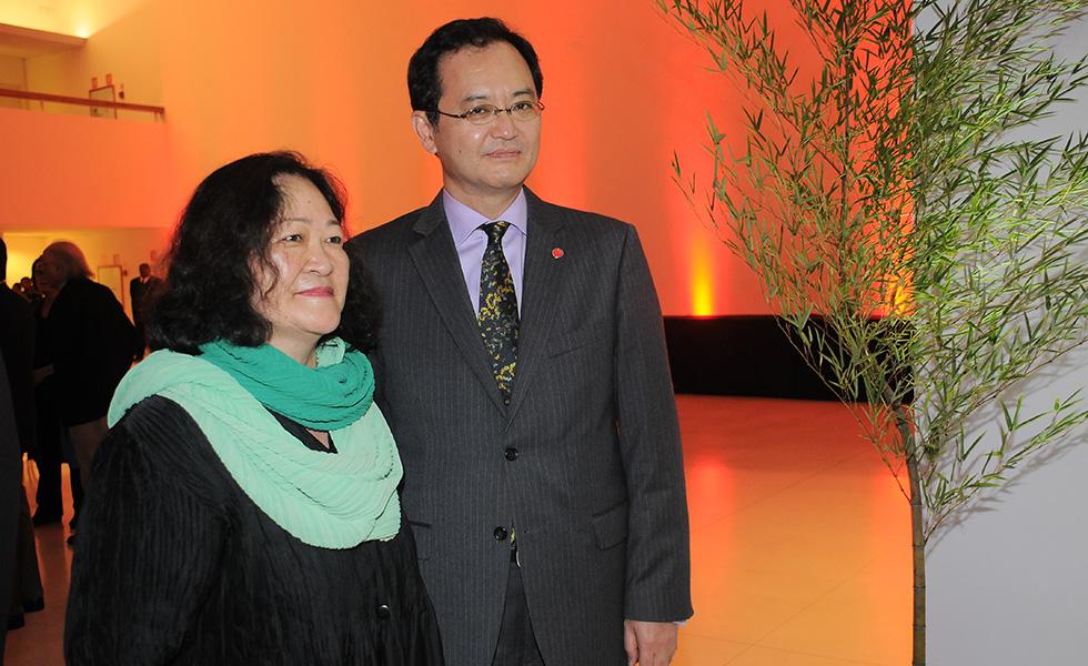 Angela Hirata e Takahiro Nakamae (Foto: Bruna Guerra)