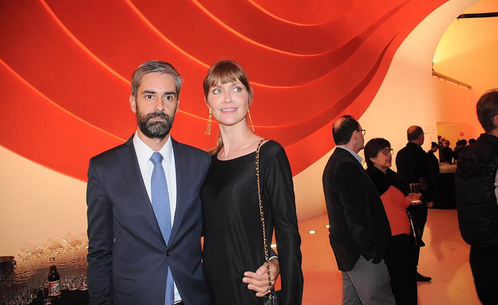 Augusto de Arruda Botelho e Ana Claudia Michels (Foto: Bruna Guerra)