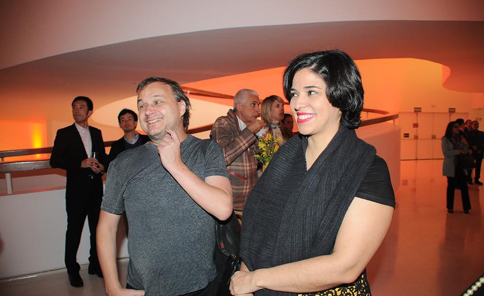 Chris Von Ameln e Ana Luiza Trajano (Foto: Bruna Guerra)