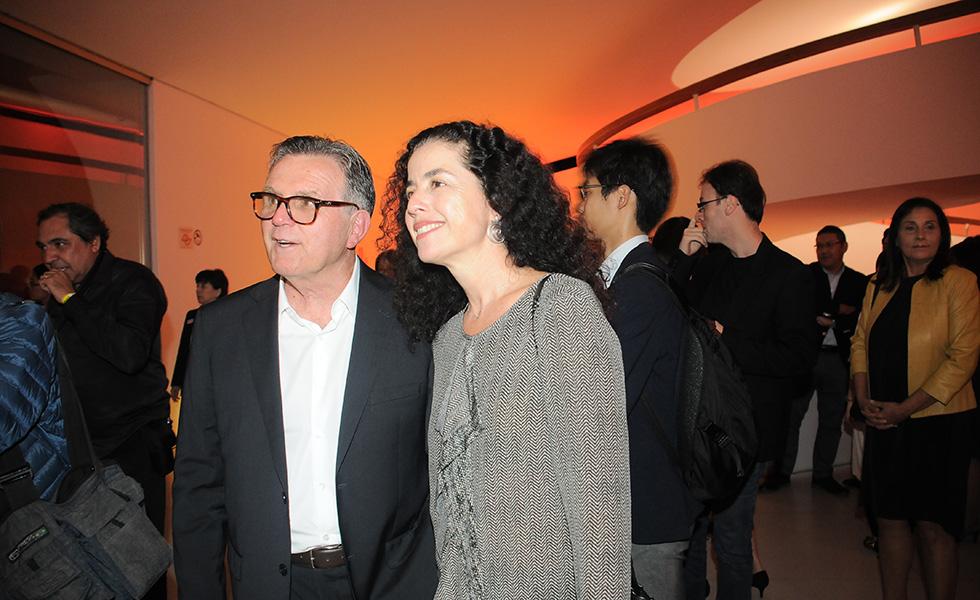 Paulo Petrarca e Claudia Marchetti (Foto: Bruna Guerra)