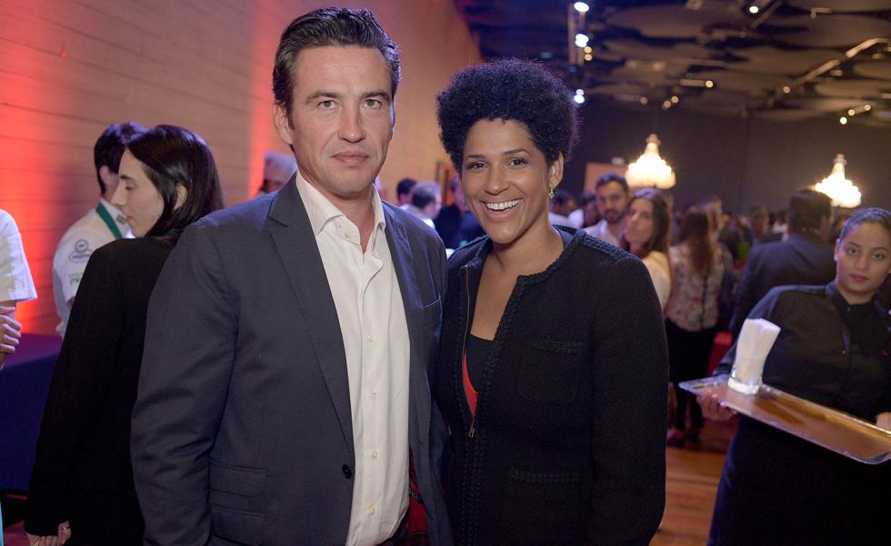 Damien e Alexandra Loras (Foto: Alexandre Virgilio/Divulgação)