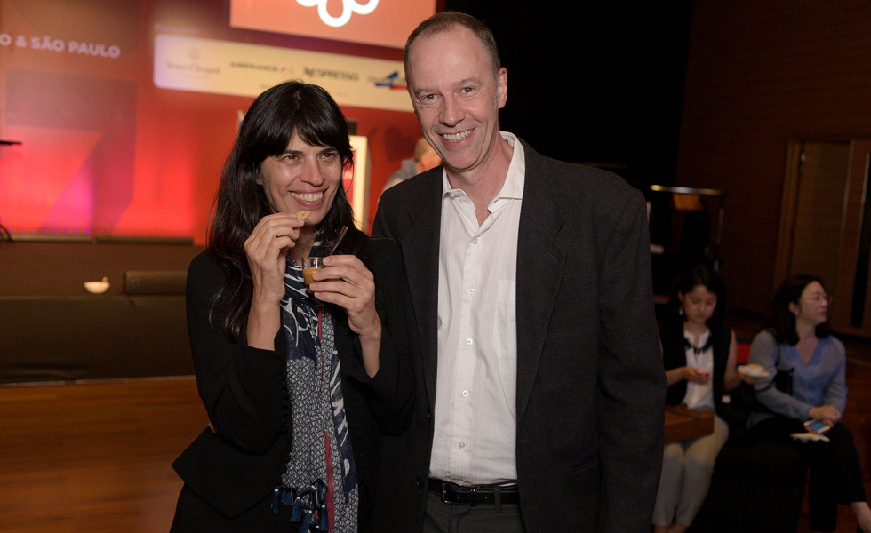 Elisa Stecca e Paulo Tadeu (Foto: Alexandre Virgilio/Divulgação)