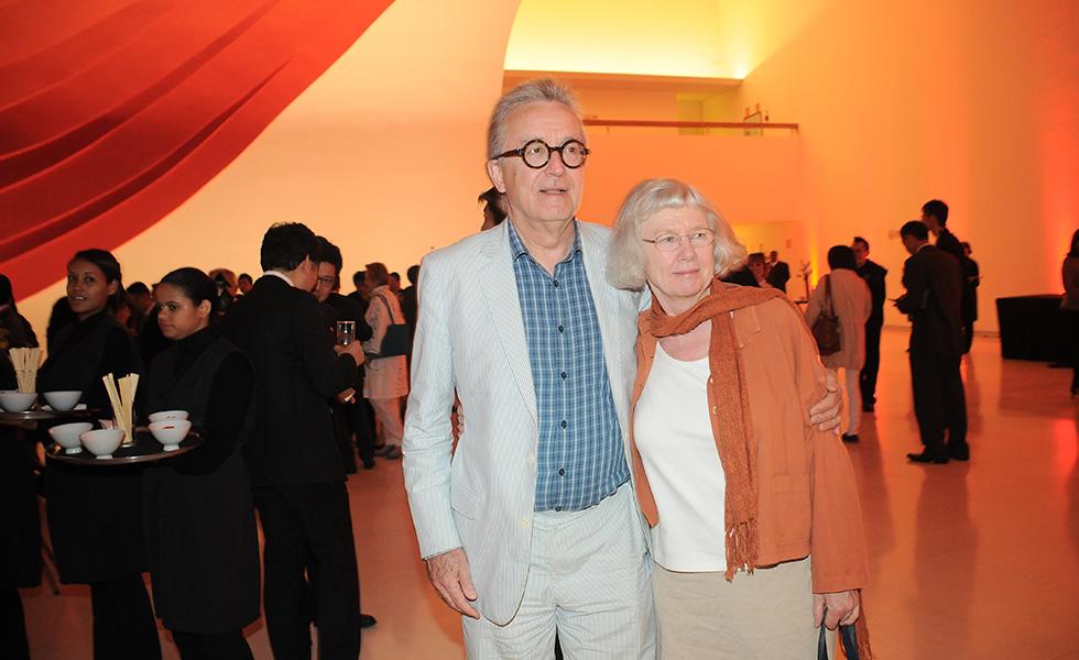 Joe Earle e Charlotte Knox (Foto: Bruna Guerra)