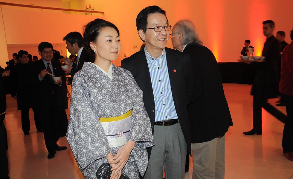 Junko e Shinji Tsuchiya (Foto: Bruna Guerra)