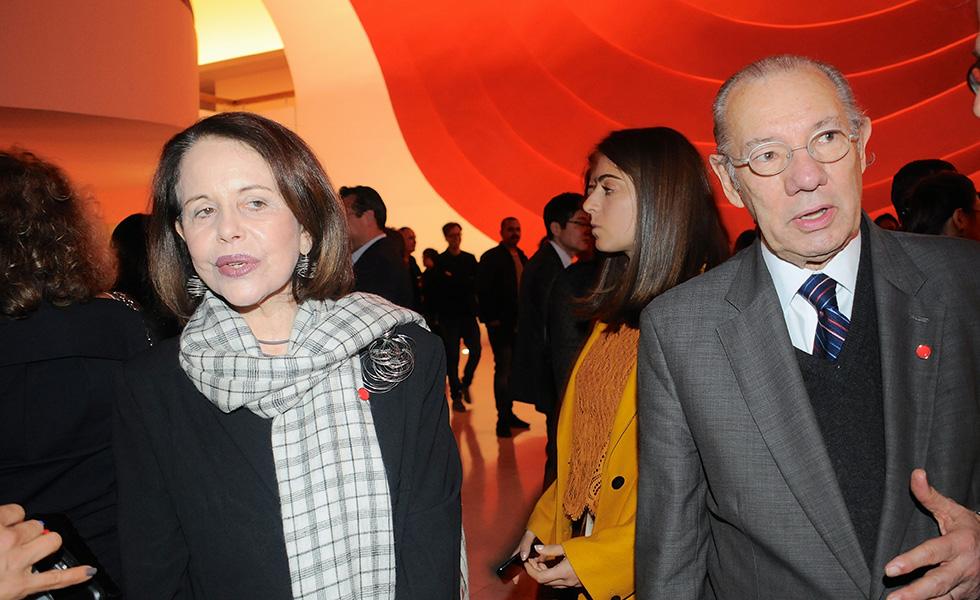 Maria Ignez e Rubens Barbosa (Foto: Bruna Guerra)