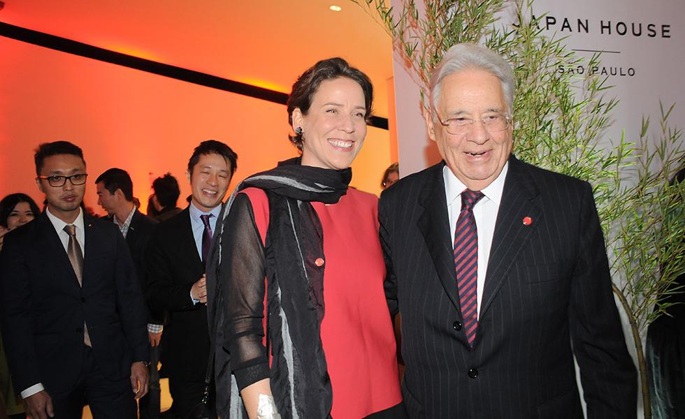 Patrícia e Fernando Henrique Cardoso (Foto: Bruna Guerra)