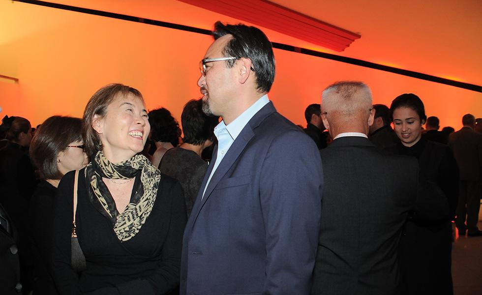 Regina e Jun Sakamoto (Foto: Bruna Guerra)
