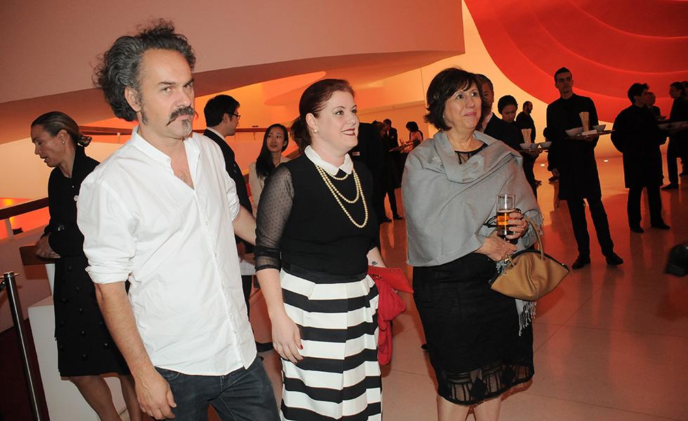 Renato Larini, Neli Pereira e Nely Caixeta (Foto: Bruna Guerra)