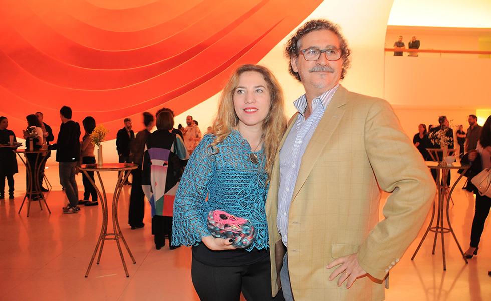 Yael e Claudio Steiner (Foto: Bruna Guerra)