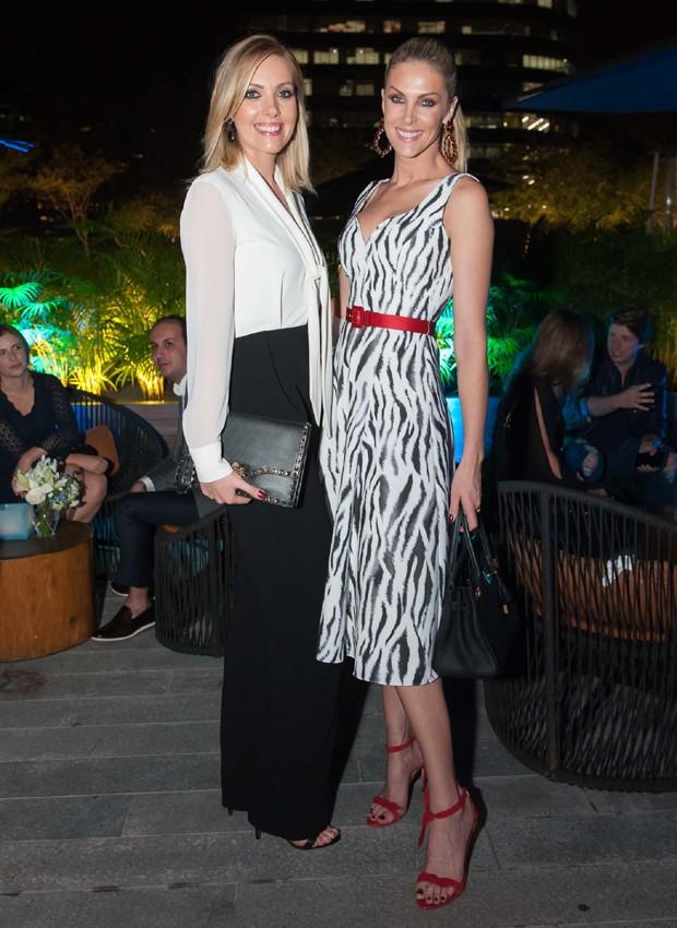 Fernanda Hickmann e Ana Hickmann (Foto: Reprodução)