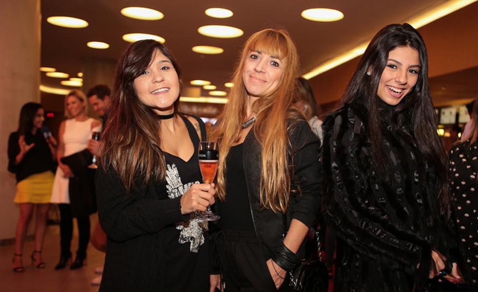 Dahiane Rocha, Ana Castro e Rafaella Fernandes (Foto: Divulgação)