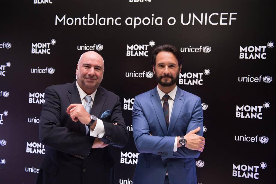 Alain Santos e Rodrigo Santoro (Foto: Reprodução)